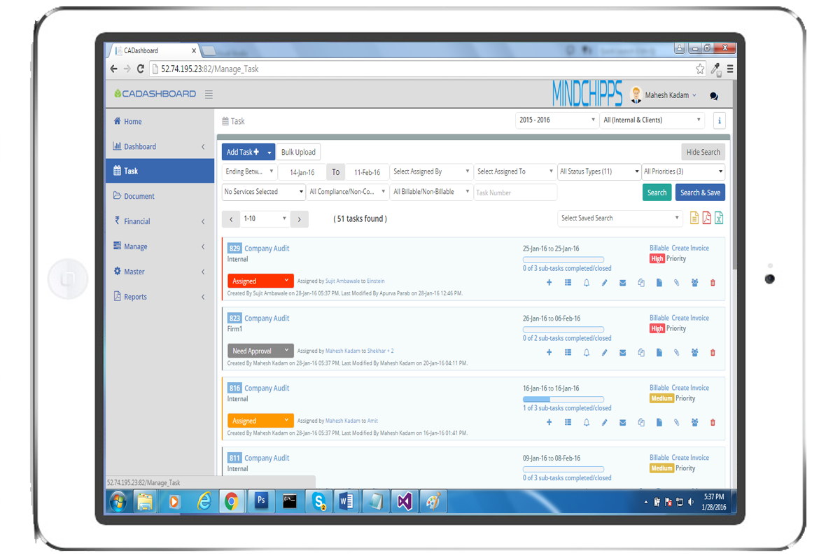 Efficient Work Management Software for Professionals